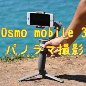 SFチックなOsmo mobile 3でのパノラマ撮影時の動き