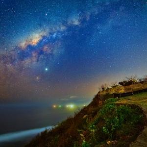 バリ島の星空