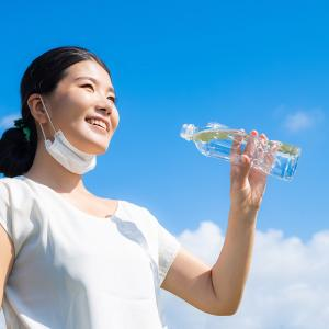 夏のマスク。熱中症にご注意を!