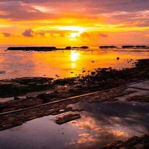 2021年元旦!バリ島の初日の出の様子です