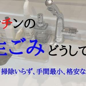 キッチンの生ごみ処理はコレだ!臭いなし、掃除いらず、手間最小、格安なアイデアを紹介。