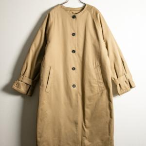 軽やかなキルティングコートで、春先まで暖か♪