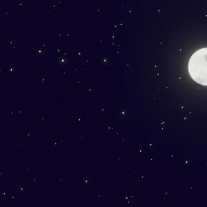 Blender 星空・夜空の簡単な作り方