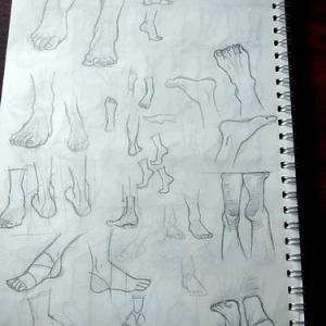 足の練習*その1