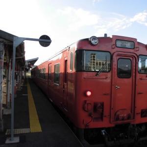 山陰本線1575D 益田~下関 令和元年9月