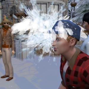 【シムズ4】全員で雪遊びするもたぶんルール理解してないやつがいる