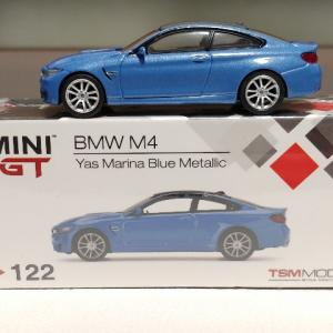 TSM MINI GT BMW M4 ヤスマリーナブルー