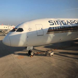 【激安】シンガポール航空 SQ656便 シンガポール-福岡 ビジネスクラス搭乗記