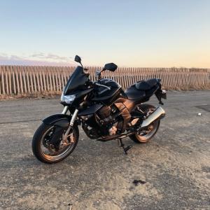 2月にバイク走らせるのは何年振りだろう・・・