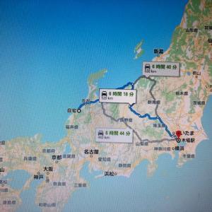 台風10号と戦い東京へツーリング