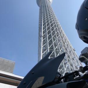 猛暑の中、東京観光ツーリング