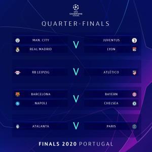 UEFAチャンピオンズリーグ、8/7と8/8にラウンド16の残りの試合を行います!