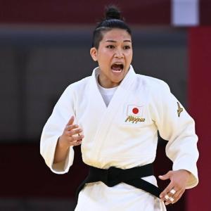 東京五輪、渡名喜風南が銀メダル獲得!