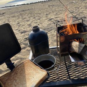 新アイテム投入キャンプ!焚火台でコーヒーを楽しむ!