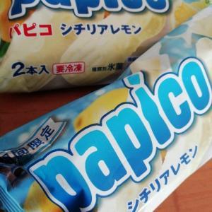 《乳アレルギー・おやつ・アイス》パピコのシチリアレモン