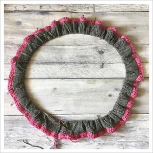 長〜い鎖編みをねじれないように輪にする方法!