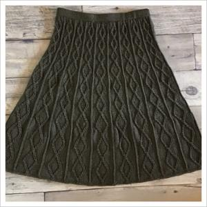 【ヴォーグ講師科】分散減目のスカート、完成しました!