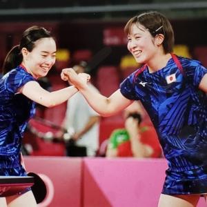 オリンピックと3姉妹。 8月1日