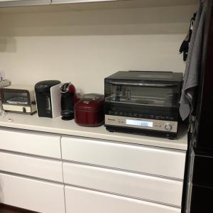 入居312日目 新しいキッチン家電を迎えました