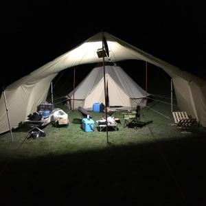9月のキャンプ