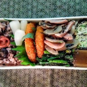 魚肉ソーセージとごぼうのきんぴら