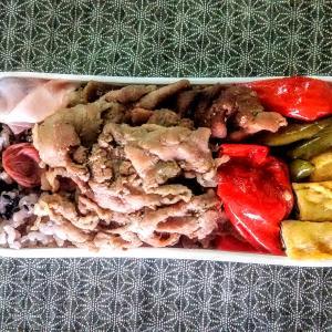 干し椎茸と豚肉の当座煮