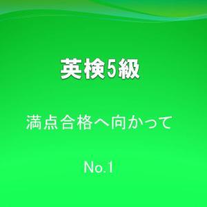 英検5級で満点合格を目指す!直前対策動画