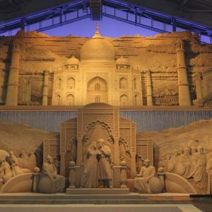 【山陰旅行】砂の美術館