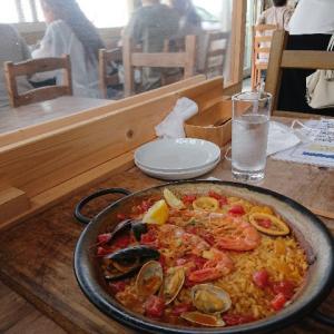 N'OCEANでパエリア料理を食べて来ました。