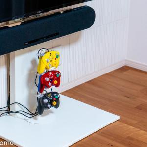 ゲームコントローラー収納ラック【スマート/smart】でスッキリ「縦積み」収納。この発想は無かった!自腹購入レビュー!