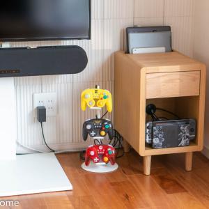 Nintendo Switchの収納にピッタリのサイドテーブル!ISSEIKI CURIP-3 SIDE TABLE 30をレビュー。