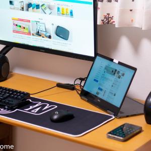 パソコンデスクのケーブル配線をおしゃれに整理する方法3ステップ。