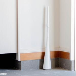 カインズ「立つほうき」で玄関をおしゃれにさっと一掃き!