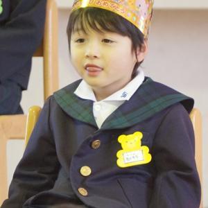 幼稚園 3月お誕生日会