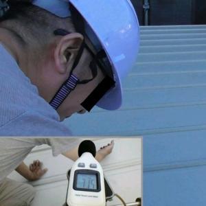 第072 話 ガルバリウム鋼板屋根にガイナ塗装