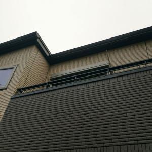 第074話 軒天と雨樋の汚れをコゲ茶で塗装