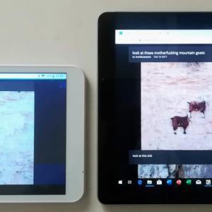 Surface Go (LTE Advanced) がもうはや届いた。初期感想と大きさ比較。ついでにモバイルPCの履歴。