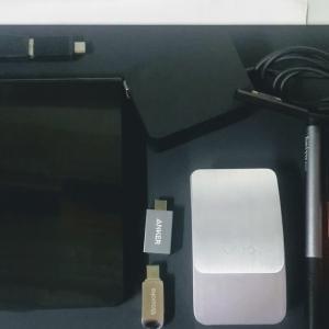 Surface Go の周辺機器とアクセサリー。便利だったものといらなかったもの、評価一覧。