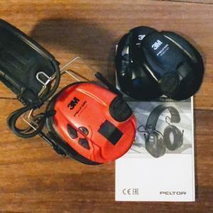 【電子イヤマフ】3M Peltor Sporttac Ear Defender Red and Black