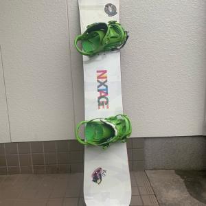 新しいスノーボードが欲しい件