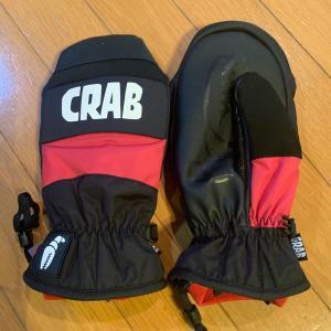 CRAB GRABのグローブを買いました。