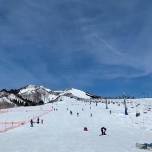 シーズン9日目。岩原スキー場で滑ってきました。