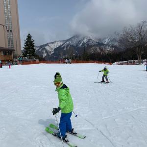 シーズン10日目。家族を連れてNASPAスキーガーデンで遊んできました!