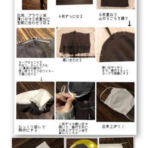 手作りマスクの作り方