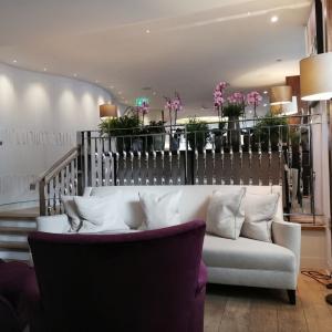 ワン・オルドウィッチのゲスト用ラウンジ Lounge at One【1stロンドン旅行 31】