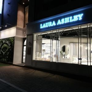 ローラ・アシュレイ韓国店舗リスト更新しました(2019年10月)