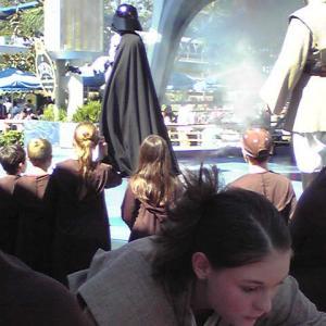 ディズニーランド スター・ウォーズのショー【2007アメリカ旅行 2】