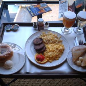 ヒルトン・アーリントン 朝食と散歩【3rdテキサス女一人旅 4】
