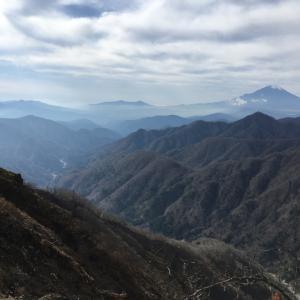 大山〜蛭ヶ岳〜陣馬山〜高尾山