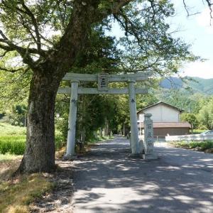 葛城一言主神社(御所市森脇)~松尾芭蕉とも縁を持つ、混乱する記紀説話が生まれた地